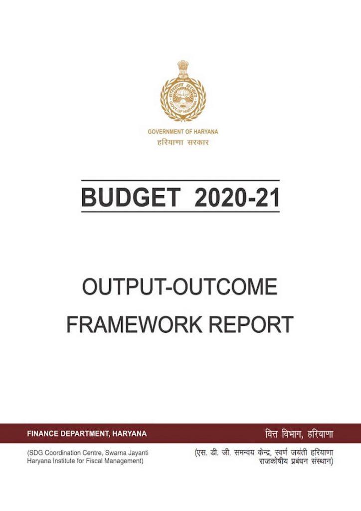 OUTCOME REPORT 2020-21