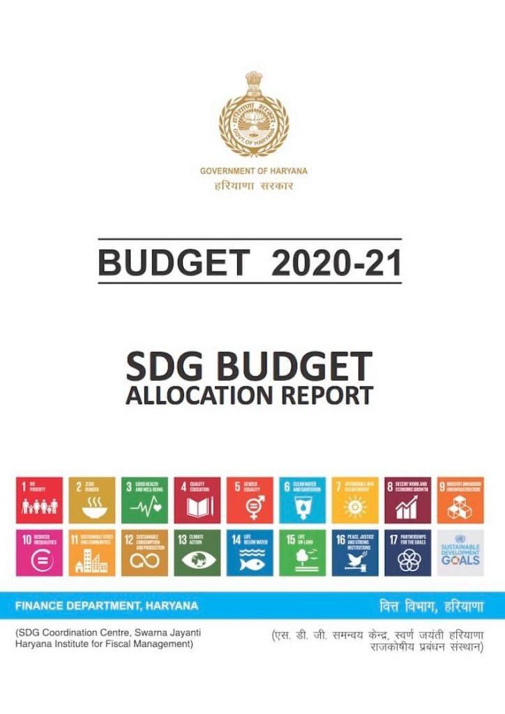 SDG Budget Allocation Report